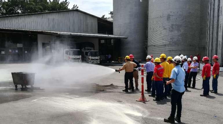 Personal participó en capacitación sobre Brigadas contra incendio y evacuación